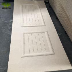 Les cendres/Teck/placage de chêne Sapeli/HDF moulé pour mobilier de maison de la peau de porte