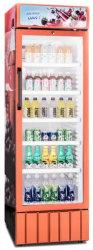Le ventilateur de refroidissement Réfrigérateur porte en verre de boisson refroidisseur de boissons/ vitrine de boissons