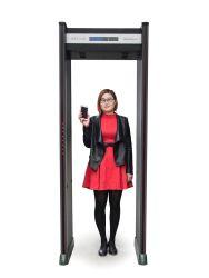 Corpo de detecção de metal through porta de segurança (caminhada através do detector de metal)