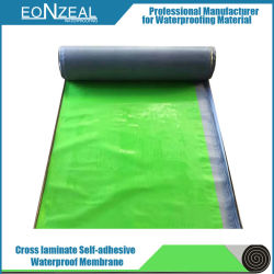 Haute résistance à la traction de bitume autoadhésif Membrane imperméable pour la construction de matériel de fuite et l'Expansion partie
