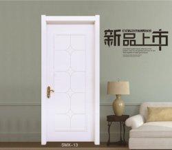 O composto de plástico de madeira embutida WPC porta para o quarto