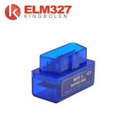 Mini Elm327 WiFi ELM 327 OBDII Car Diagnostic Tool OBD2 Code Reader Scanner for iOS Android Elm WiFi 327 Blue