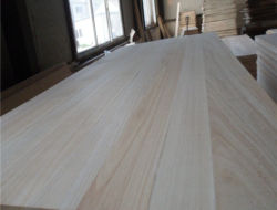 Zusammensetzung 2 Schichten Paulownia feste Holz-