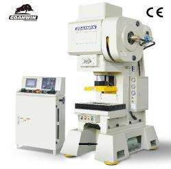 Estrutura C Alta Velocidade furação de chapa metálica prensa elétrica para a fabricação de Metal