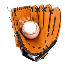 Logo personnalisé gant de baseball Softball la pratique de la taille de l'équipement 9.5/10.5/11.5/12.5 main gauche pour l'homme, femme de la formation des adultes