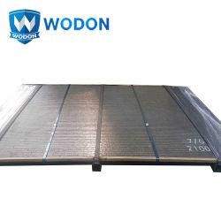 Material resistente al desgaste de la placa de desgaste de la GCC la placa de acero