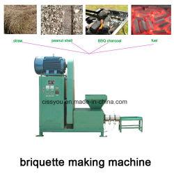 Machine van de Briket van de Houtskool van de Schil van de Koffie van de Rijst van het Zaagsel van de fabriek de Houten