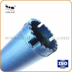 Сегмент Blue Wave алмазных буровых коронок ядра для армированного бетона.