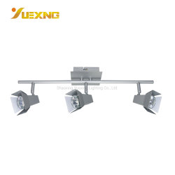 السعر المباشر للمصنع 240-400 لومن 3000-6000 كيلو فضي GU10 بقوة 3 واط مع ضوء كشاف مصباح ضوء موضع في السقف ذو المظلة
