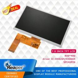 """Het Scherm 7 """" van TFT LCD het Scherm 800*480 is voor Auto DVD/GPS/DVR van toepassing"""