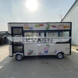 Nuevo Diseño de restaurantes de comida rápida móvil multifuncional Snack coche eléctrico