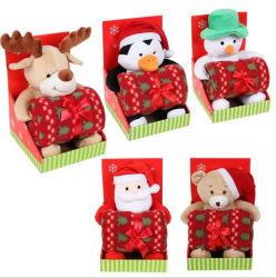 PP 코튼으로 속을 채운 물세척이 가능한 플러시 크리스마스 선물 베이비 담요