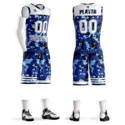 あなた専有物の習慣によって昇華させるバスケットボールのユニフォームチームのためのデザイン