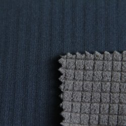 96%spandex polyester/4%75D Downproof/tissu imperméable pour Down Jacket/Lumière coupe-vent