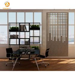 Raum-/Büro-Möbel, die den beweglichen Platz-Teiler-Partition-Bildschirm hergestellt durch kundenspezifisches Haustier-Panel hängen