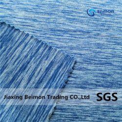 100 % polyester Tissu de fils de trame pour vêtements de sport