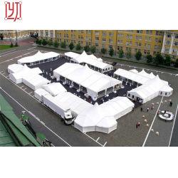 Châssis en aluminium grande piscine extérieure en PVC Ridge fête de mariage tente de l'événement