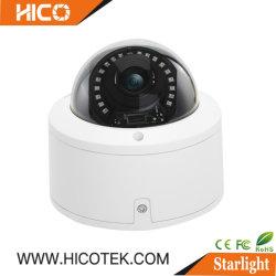 5MP IK10 Вандалозащищенная большой кронштейн гибридный варифокальный купольной камерой с автоматическим автоматической фокусировки объектива
