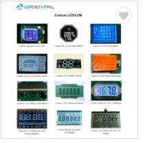 Écran graphique LCD série 128X128 de l'écran LCD graphique Bon prix Factory Display LCD