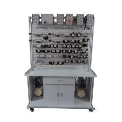 De dubbele Apparatuur van de Opleiding van de Apparatuur van het Onderwijs van de Trainer van Kanten Elektro Pneumatische Onderwijs