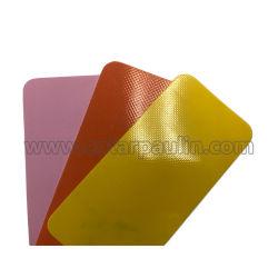 Poli tessuto di nylon trasparente della tenda della tela incatramata 560g della maglia del PVC
