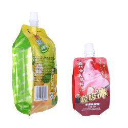 [لمينت بلستيك] يقف فوق سائل عصير ماء جلاتين صنبور كيس حقيبة