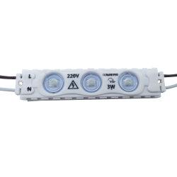 Модуль переменного тока 110 В, 220 В вход светодиодный модуль высокого напряжения не нужен драйвер для размещения рекламы