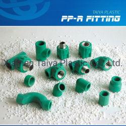 PPR a conexão do tubo de água quente e frio