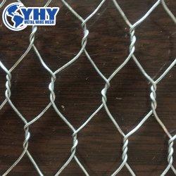 alta 0.6m rete metallica esagonale galvanizzata del pollo di 25mm per il Regno Unito