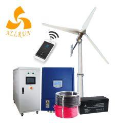 수직 축 12V 24V 풍력 터빈 라이트 사용/WiFi App Horizon 20kw 30kW 윈드 생성기 원용 풍력밀