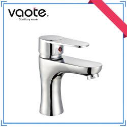 Heißer Verkaufs-Einhebelzink-Karosserien-Badezimmer-Wasser-Hahn mit Chrom (VT11903)