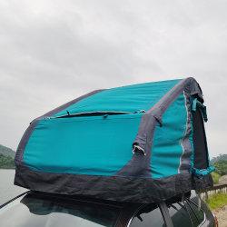 새로운 디자인 4 계절 휴대용 옥상 텐트 SUV 자동차 캠핑 차량용 팽창식 지붕 상단 텐트