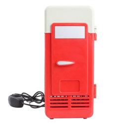 Réfrigérateur Mini refroidisseur de voiture de canettes de boisson congélateur Réfrigérateur portable USB PC seul 19,4 X 9 X 9 cm