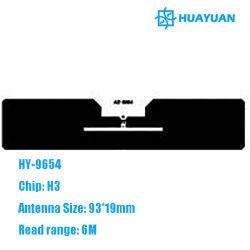 contrassegno passivo di frequenza ultraelevata RFID della modifica del parabrezza dello STRANIERO H3 RFID di 860-960MHz mpe GEN2 HY-9654