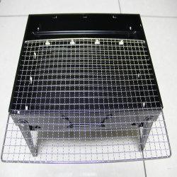 Кухня используется оборудование для продуктов питания потребителей электроэнергии с хромированными металлической проволоки печь для установки в стойку