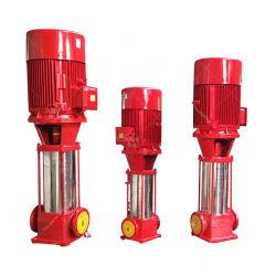 مضخة إطفاء الحريق الرأسية متعددة المراحل Xbd-Qj القابلة للطرح لمدة الآبار