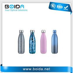 Bottiglia di acqua doppia di plastica della chiavetta della tazza di caffè della tazza di vuoto dell'acciaio inossidabile di sport di corsa (dB32010)