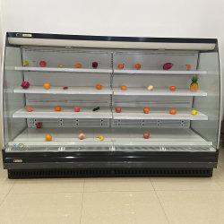 Strumentazione aperta commerciale del supermercato del refrigeratore di Mutideck per le azione della bevanda
