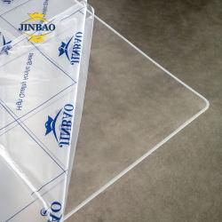 مورّد جينباو مخصص 1 مم 3 مم سماكة 12 مم من البلاستيك الشفاف الشفاف أوراق أكريليك البلاستيكية