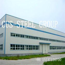 Conception légère en acier de construction hangar/atelier d'acier préfabriquées