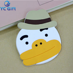 2019 Bestselling Custom Cute Cartoon Sotf PVC Coaster for Promotion Gift (CS10-C)