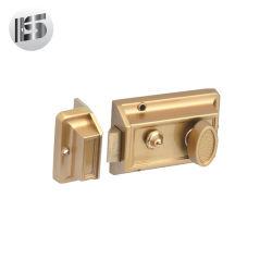 고품질 Phillps 두 배 안전에 의하여 그려지는 주요 Front Cerradura De Sobreponer Brass 자물쇠 사슬 문 호랑이 변죽 자물쇠