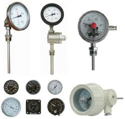 Los termómetros bimetálico para medir la temperatura