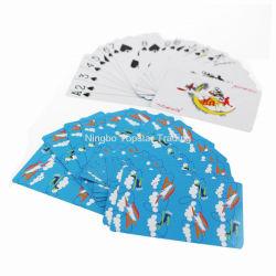 판촉용 OEM 맞춤형 광고 맞춤 디자인 인쇄 종이 재료 포커 카드 거래 게임 빙고 게임 어른을 위한 사용자 정의 게임 카드 게임 교육