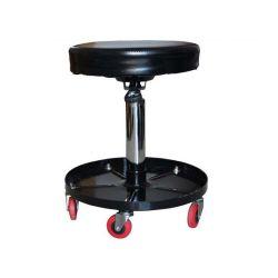 공압 자동차 수리 주안정 크리퍼 시트 워크샵 원형 슬래그 크리퍼 추가 공구 트레이가 있는 좌석