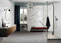 オーストラリアスタイル 800*800mm 磁器光沢全面大理石セラミック壁 ホテルスーパーマケットプロジェクトの床のタイル
