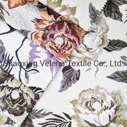 Textilpolsterung-Ausgangsgewebe des Jacquardwebstuhl-100%Polyester Gblan gefärbtes für Großhandelsvorhang-Kissen-Gewebe