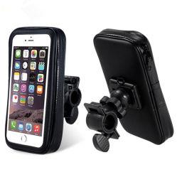 Tres tamaños resistente al agua antichoque bicicleta Bicicleta de montaje de teléfono celular titular de la bolsa de manillar.