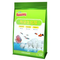 5 لترات 3.5 كجم مواد فلتر الكرة الخزفية Biochemical Ball