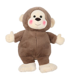 Adorável promocionais Soft recheadas Monkey Animal Plush Doll Barato Toy